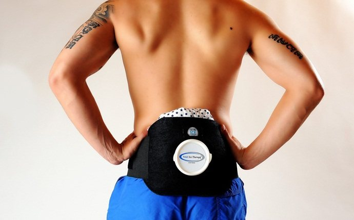 how to cure backache - ice therapy