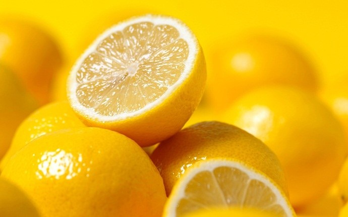 how to get rid of stomach ache - lemon, mint, ginger, honey, water, and salt