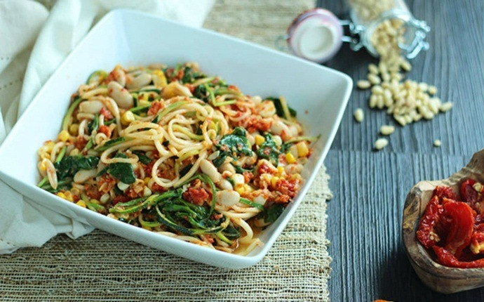 low calorie diet for weight loss - low calorie spinach pasta