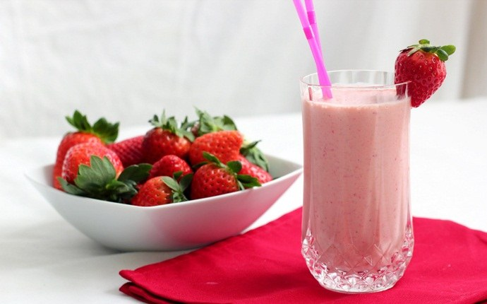 low calorie diet for weight loss - low calorie strawberry smoothie