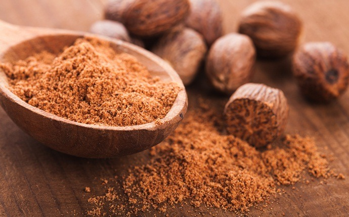 how to remove eczema - nutmeg