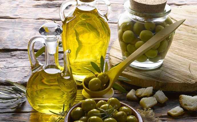 how to get rid of dry hair - olive oil