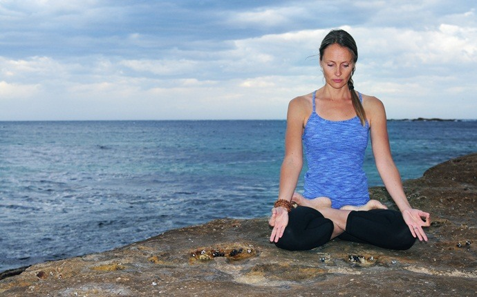 yoga poses for pcos - padmasana (lotus pose)