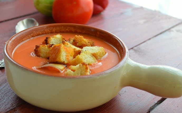 low calorie diet for weight loss - spanish gazpacho soup