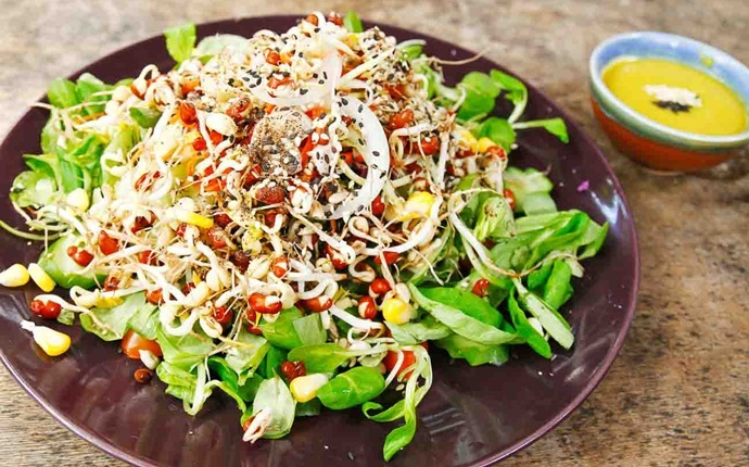 low calorie diet for weight loss - sprouts salad