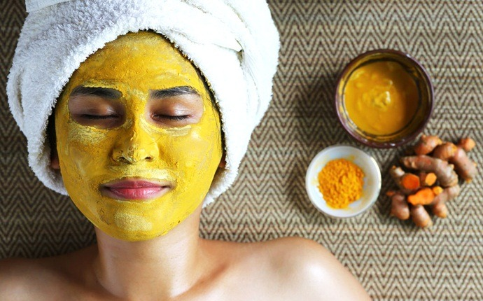 turmeric mask for acne - turmeric and yogurt