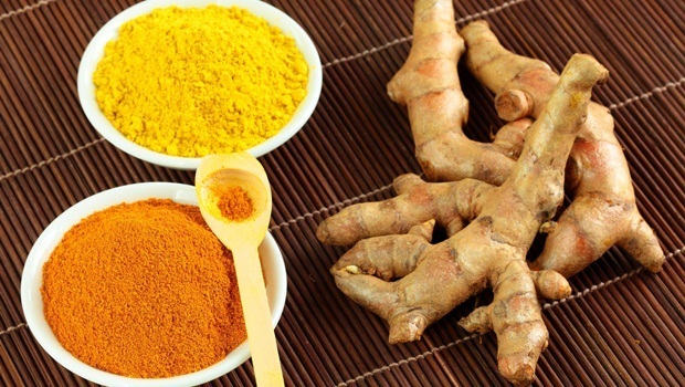 how to treat sprained ankle - turmeric, lemon juice, limestone powder, and water