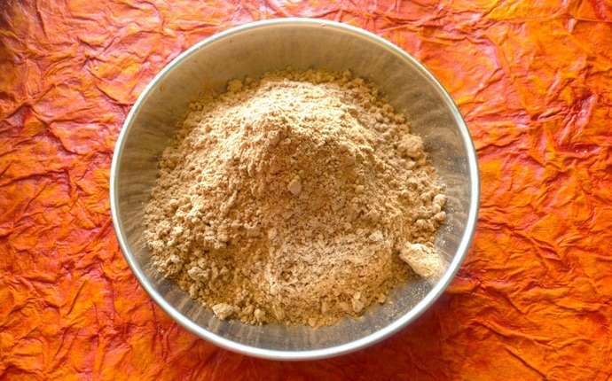 turmeric mask for acne - turmeric, sandalwood powder, and rose water