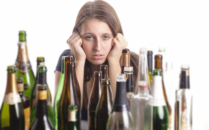 foods that cause anxiety - alcohol