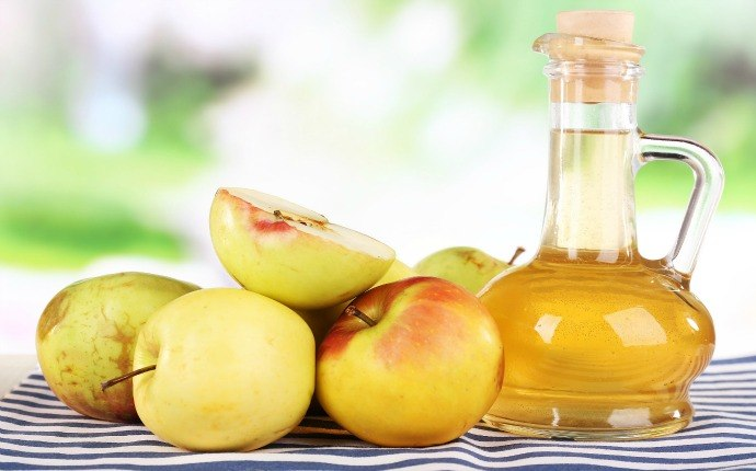 home remedies for sebaceous cyst - apple cider vinegar