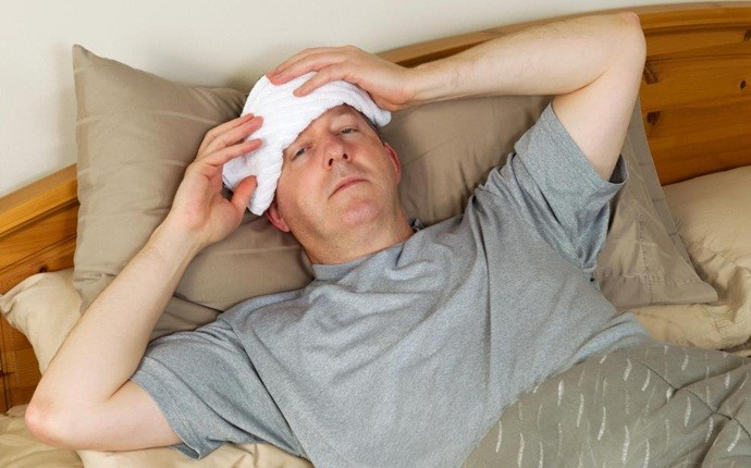 how to break a fever - cold compress