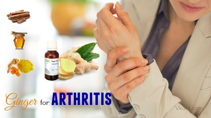 ginger for arthritis