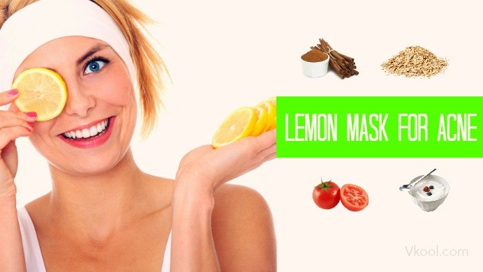 lemon mask for acne