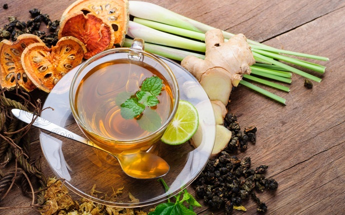 how to break a fever - lemongrass tea