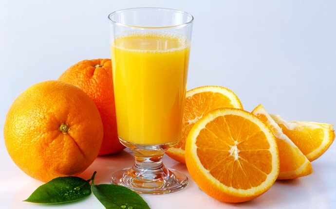 how to break a fever - oregano, orange juice, and water