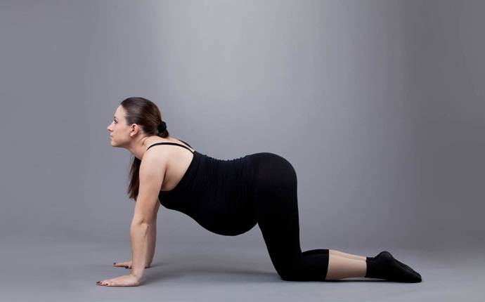 abdominal exercises during pregnancy - side plank