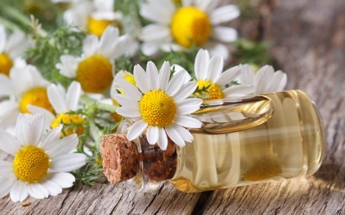 almond oil for dark circles - almond oil and chamomile essential oil
