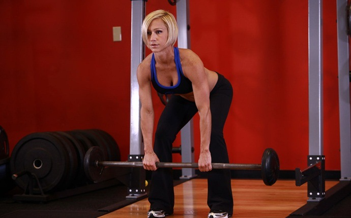 total body workouts - bent over barbell row