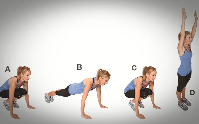 total body workouts - burpees