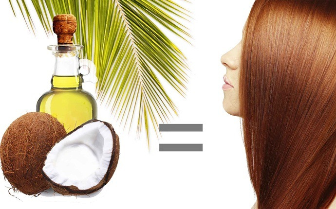 how to prevent dry scalp - coconut oil