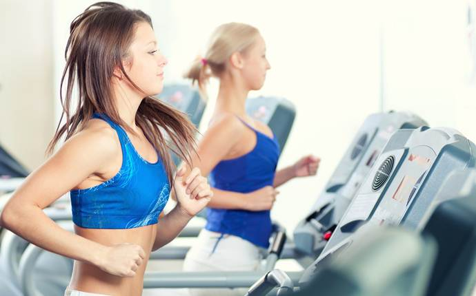 how to get skinnier legs - exercise with treadmill