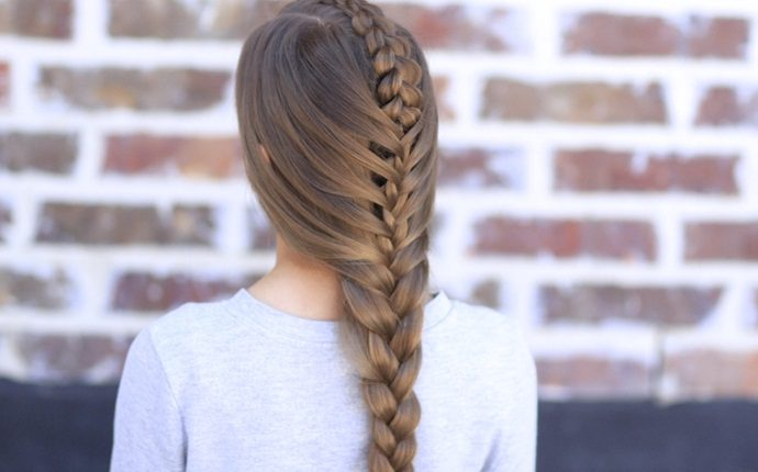 hairstyles for teenage girls - peekaboo