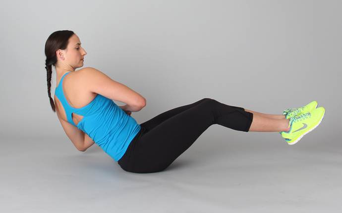 yoga poses for sciatica - the single knee twist