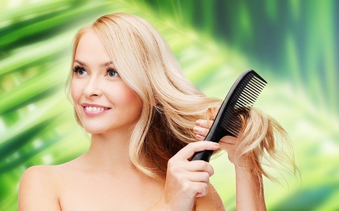 how to get rid of puffy hair - avoid brushing
