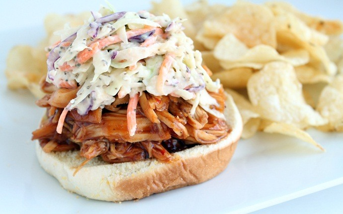peanut free snacks - bbq chicken sandwich