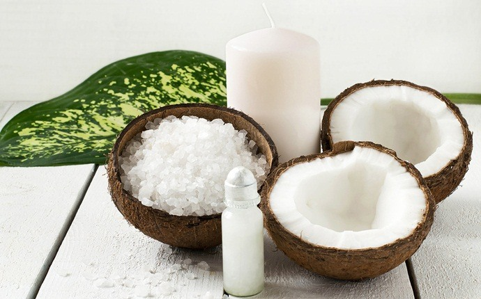 chicken pox scars treatment - coconut oil
