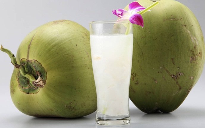 chicken pox scars treatment - coconut water