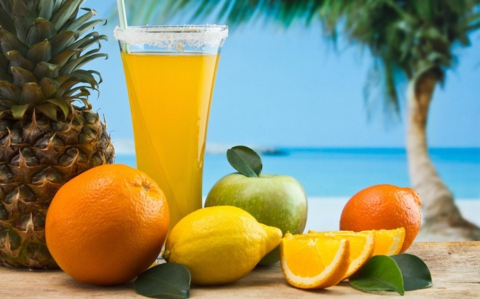 natural diuretic foods - fruits and fruit juices
