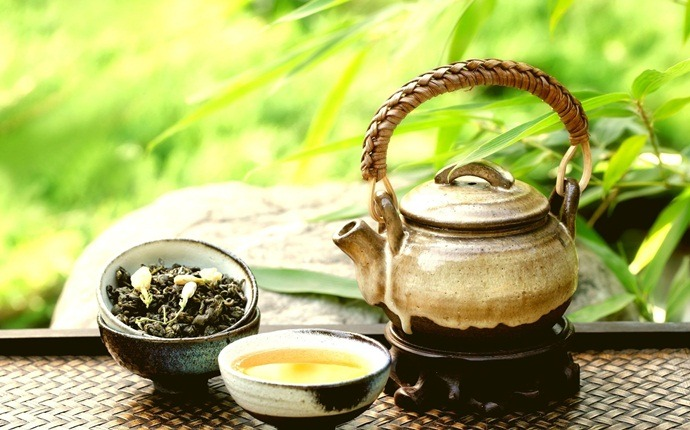 natural diuretic foods - green tea