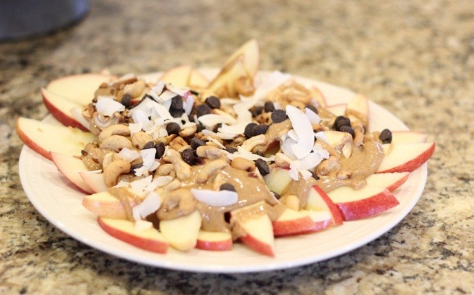 paleo snack recipes - paleo apple nachos