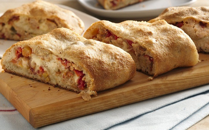 peanut free snacks - pizza roll-up