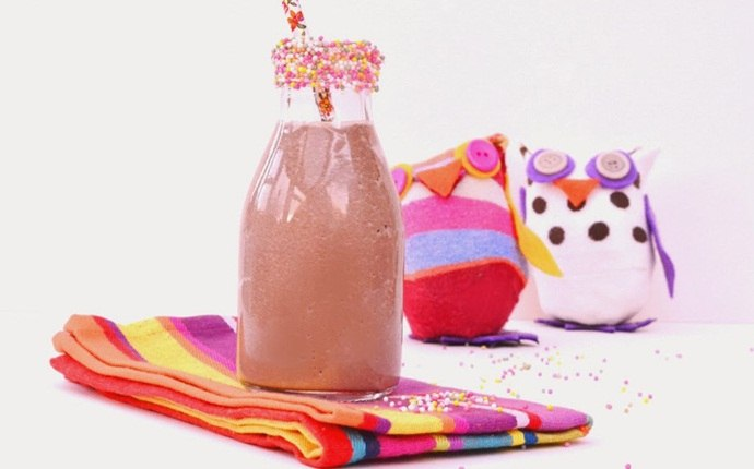 smoothie recipes for kids - super hero shake