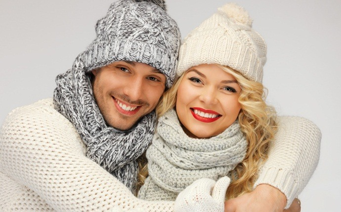 how to get rid of puffy hair - wear a scarf or hat