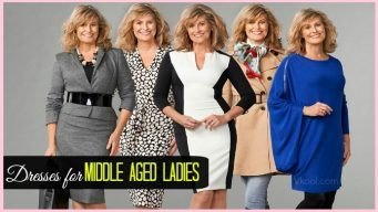 dresses for middle aged ladies