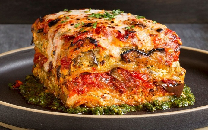 healthy zucchini recipes - garden lasagna