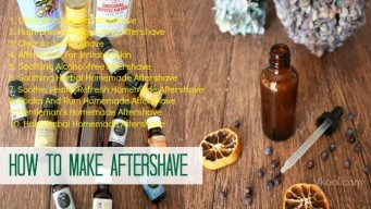 how to make aftershave