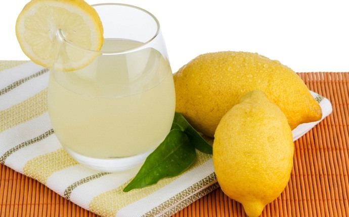how to get rid of pneumonia - lemon juice, salt, and water