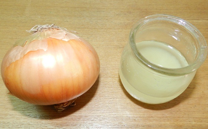 how to get rid of baldness - onion juice and honey