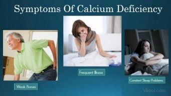symptoms of calcium deficiency