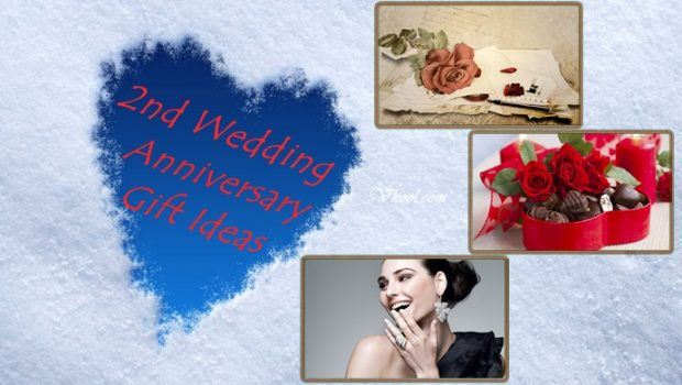 2 Wedding Anniversary Ideas : 2nd Wedding Anniversary Gift Ideas For Wife & Husband