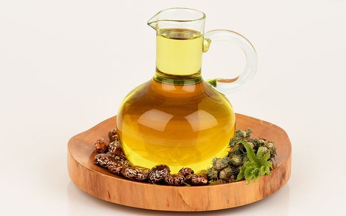 home remedies to get straight hair - castor oil