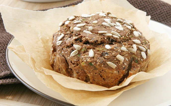 paleo breakfast recipes - coconut flour zucchini bread