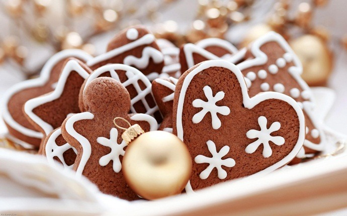 low calorie cookies - gingerbread cookies