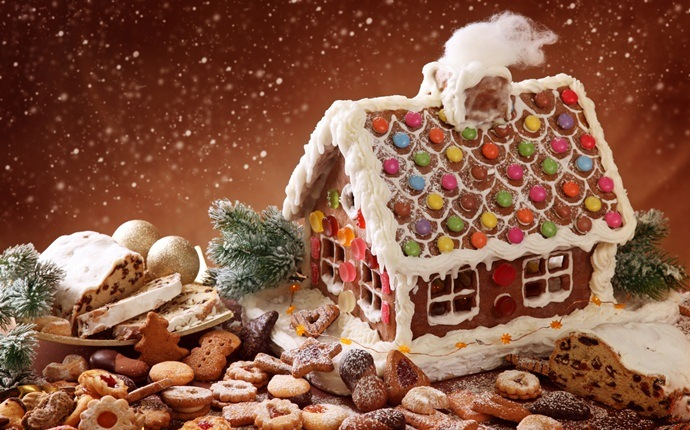 christmas recipes for kids - gingerbread house