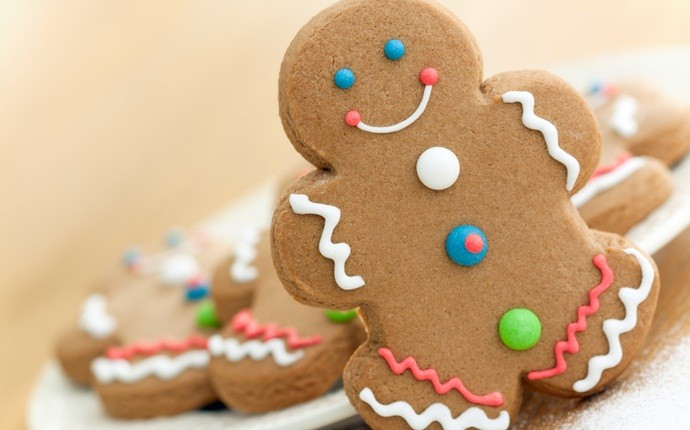 christmas recipes for kids - gingerbread men