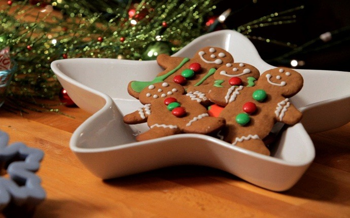 christmas recipes for kids - gingerbread people